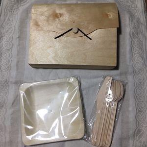 Travel Bamboo Dining Set
